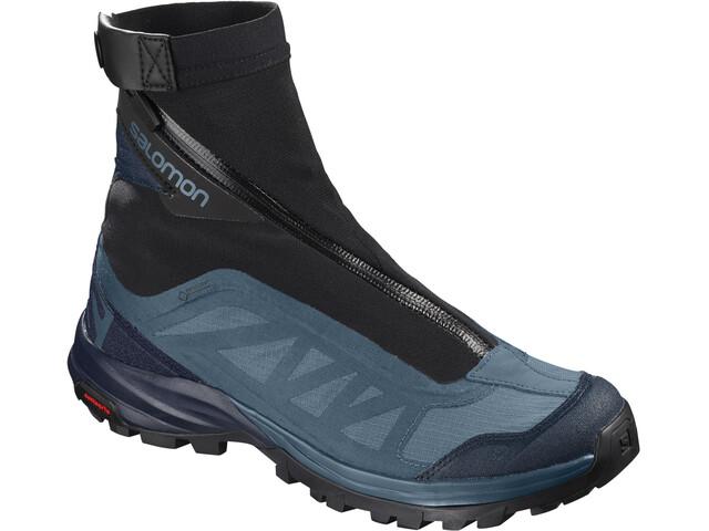 Salomon Outpath Pro GTX Shoes Dame mallard blue/navy blazer/black